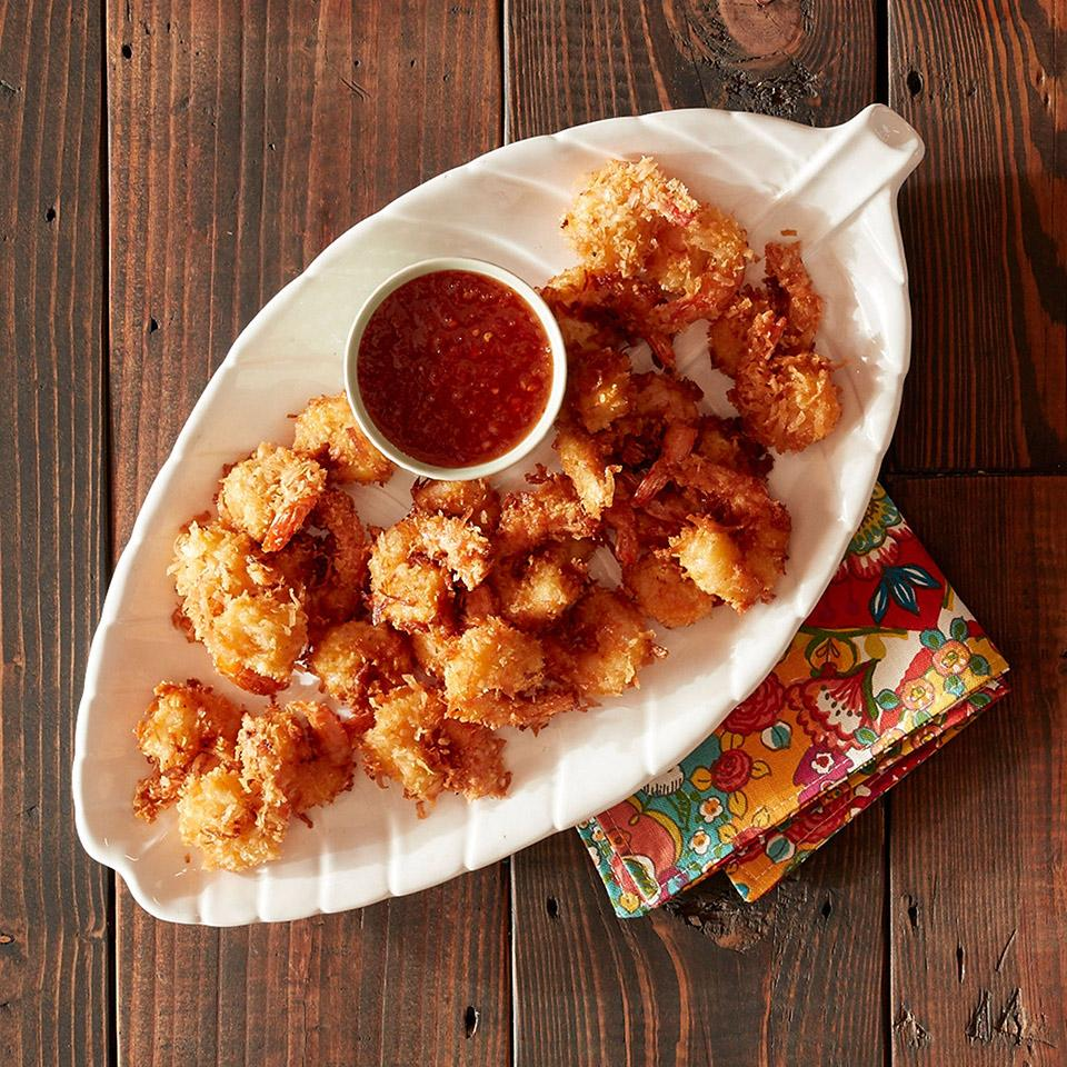 Coconut Shrimp with the Best Dipping Sauce image