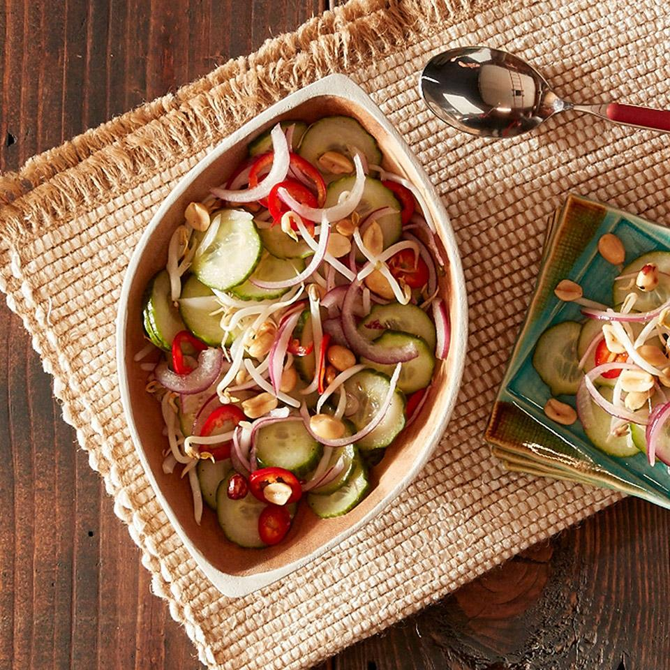 Spicy Thai Cucumber Salad