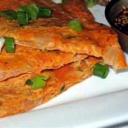 Kimchi Jun (Kimchi Pancake) and Dipping Sauce PAMELA D. aPROpos of nothing