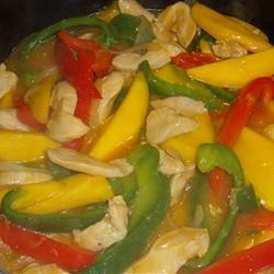 Stir-Fried Mango Chicken
