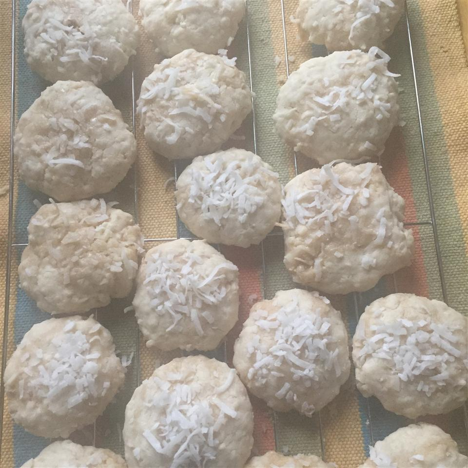 Easy Sweet Coconut Cookies Fabiola
