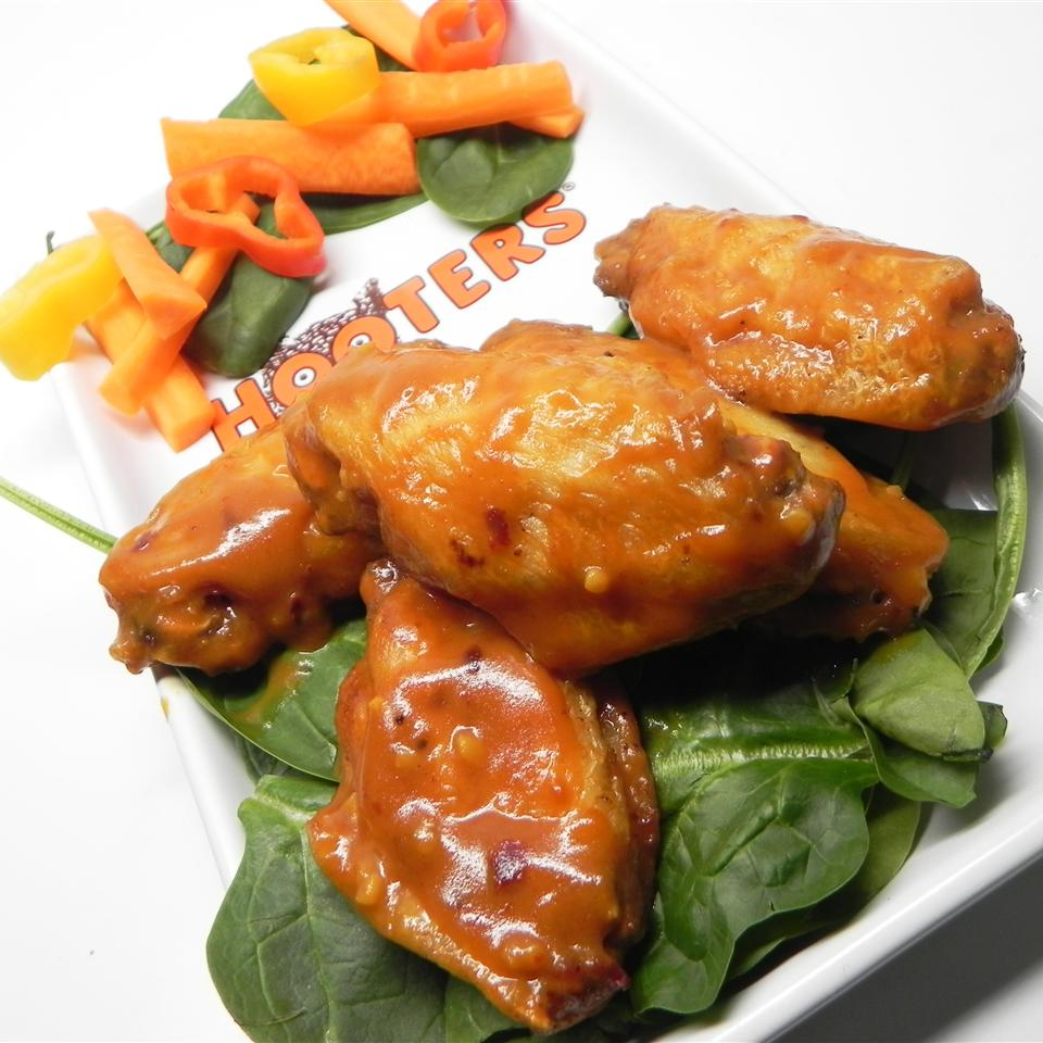 Hot Honey Whiskey BBQ Wing Sauce Eric