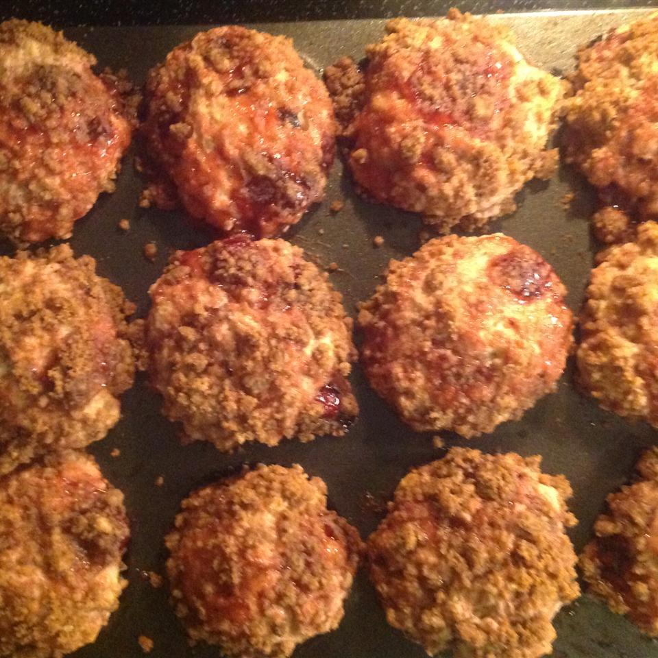 Cherry Cobbler Muffins CathyTriesRecipes