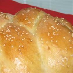 Bread Machine Challah for Shabbat and Festivals