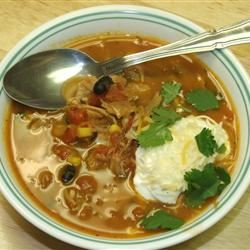 Tex-Mex Turkey Soup