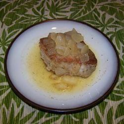 Gingered Pork Chops in Orange Juice