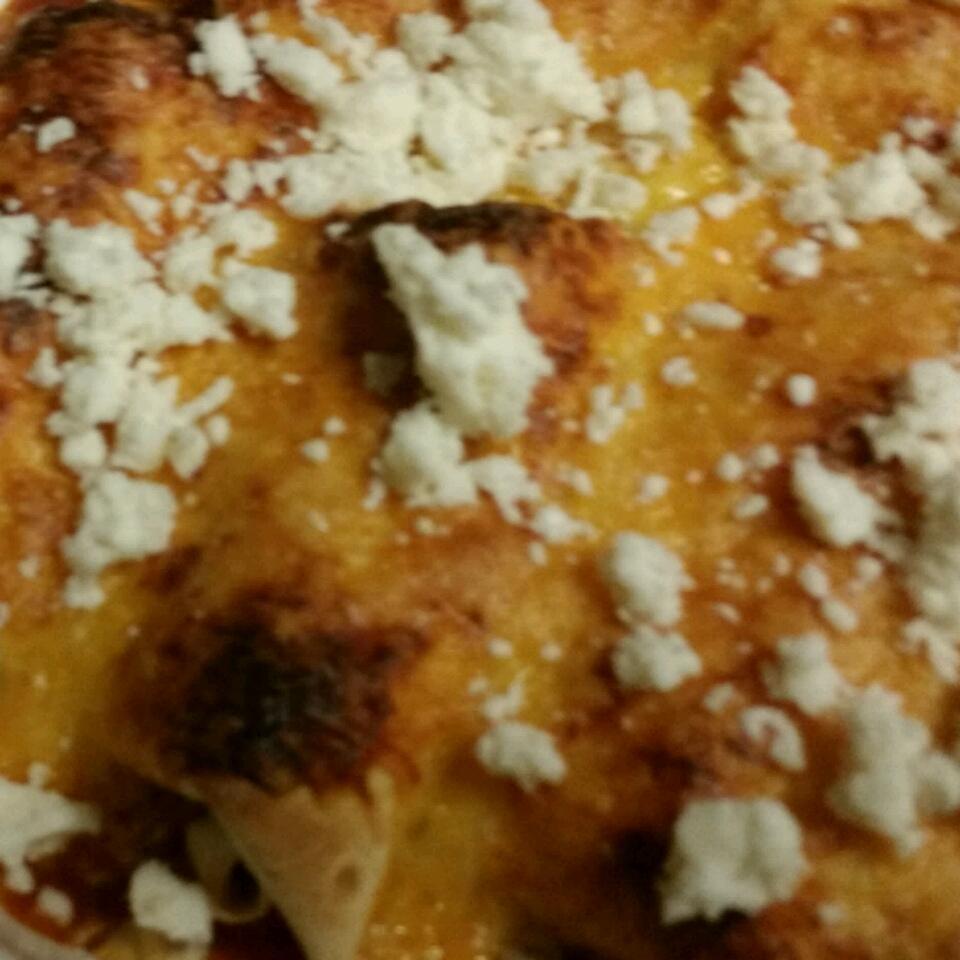 Fiesta-Ready Easy Chicken Enchiladas pepamnt