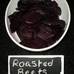 Roasted Beets and Sauteed Beet Greens TheBritishBaker
