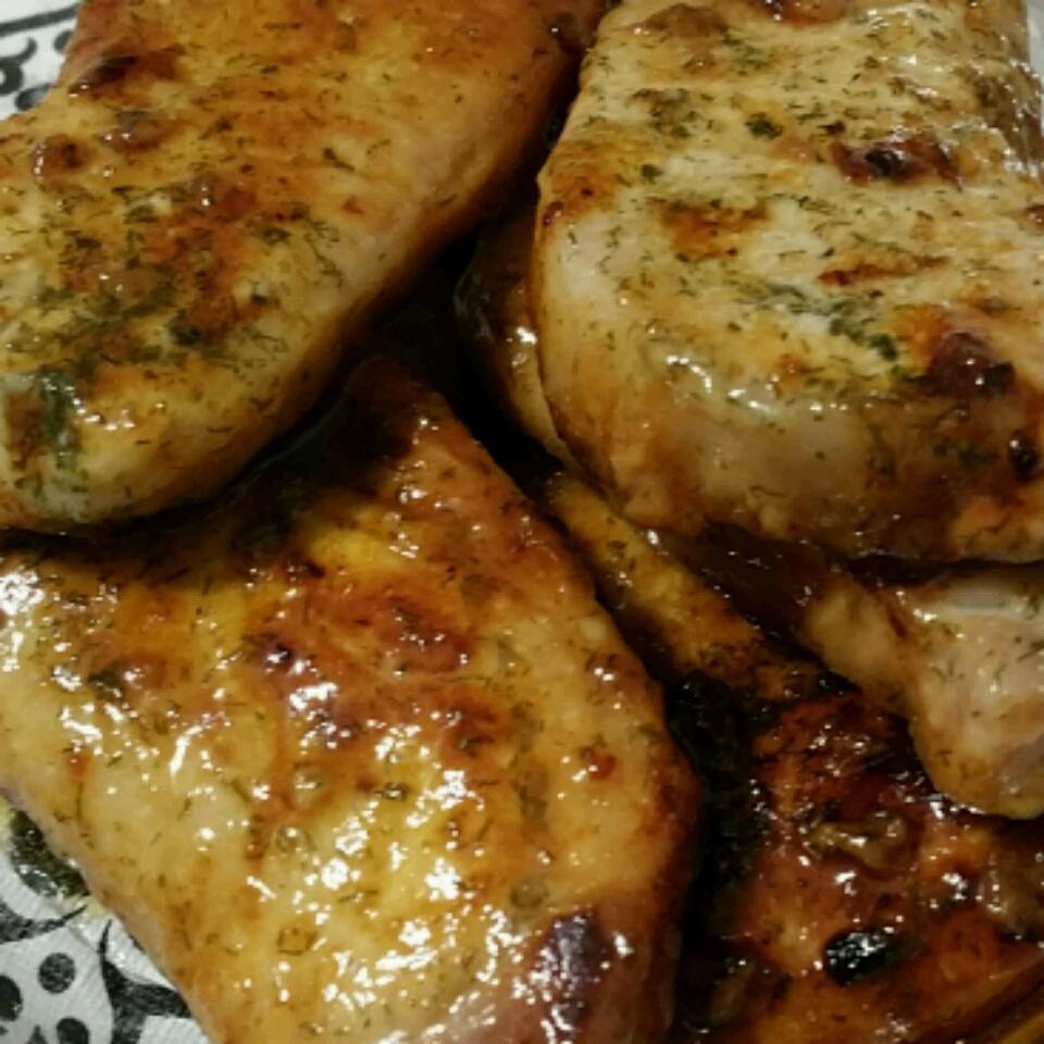 Dill and Honey Pork Chops Chris Weinhandl