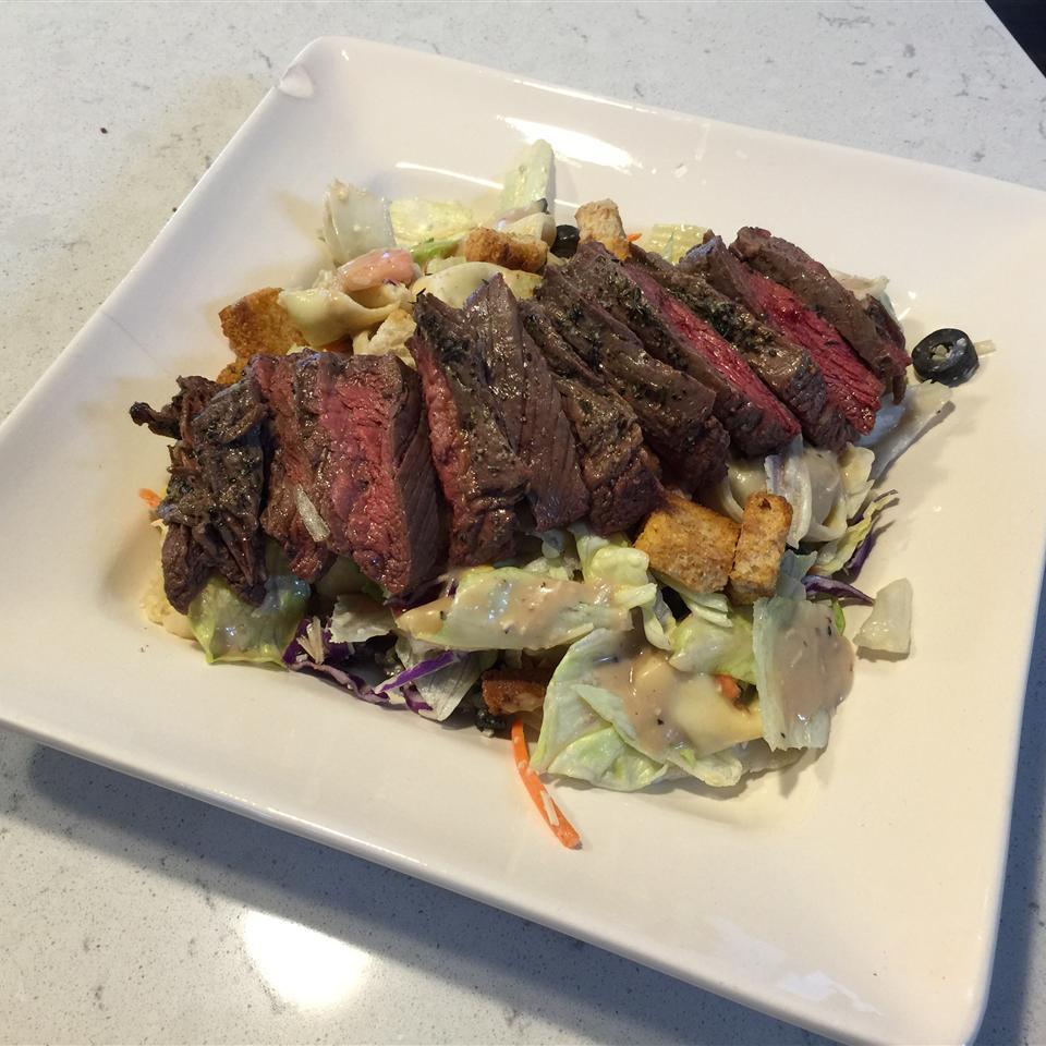 Tortellini, Steak, and Caesar Sonia Christen