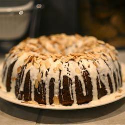 White Chocolate Amaretto Cake