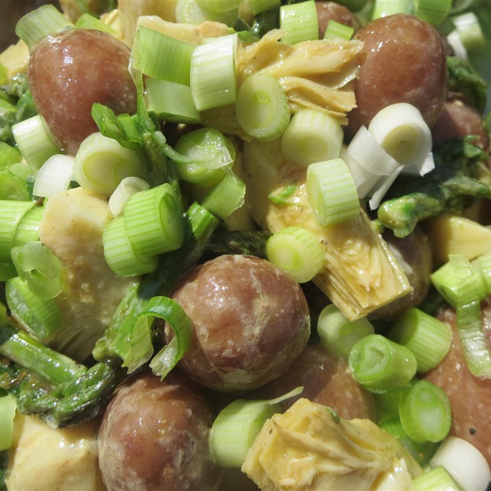 Red Potato, Asparagus, and Artichoke Salad Phoebe