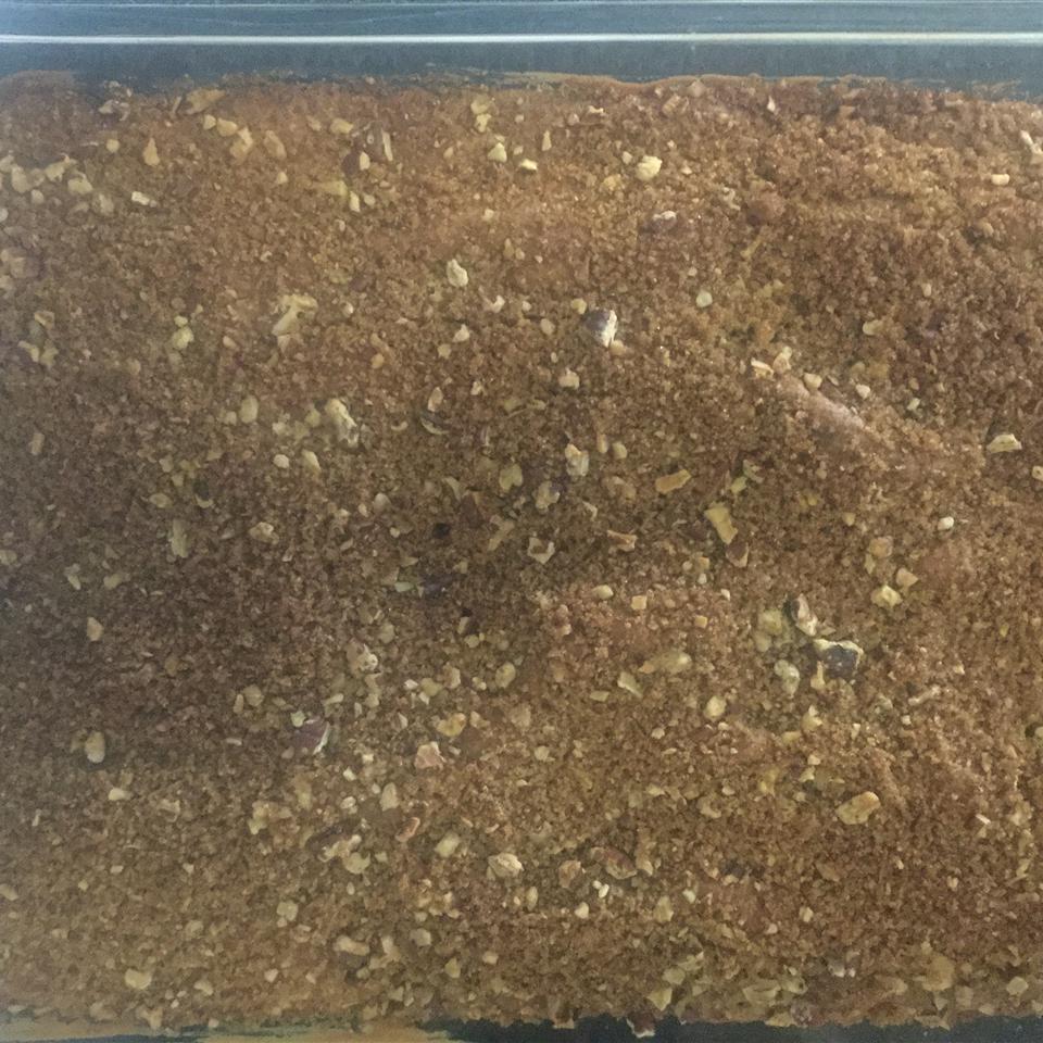 Make-Ahead Sour Cream Coffee Cake Carey