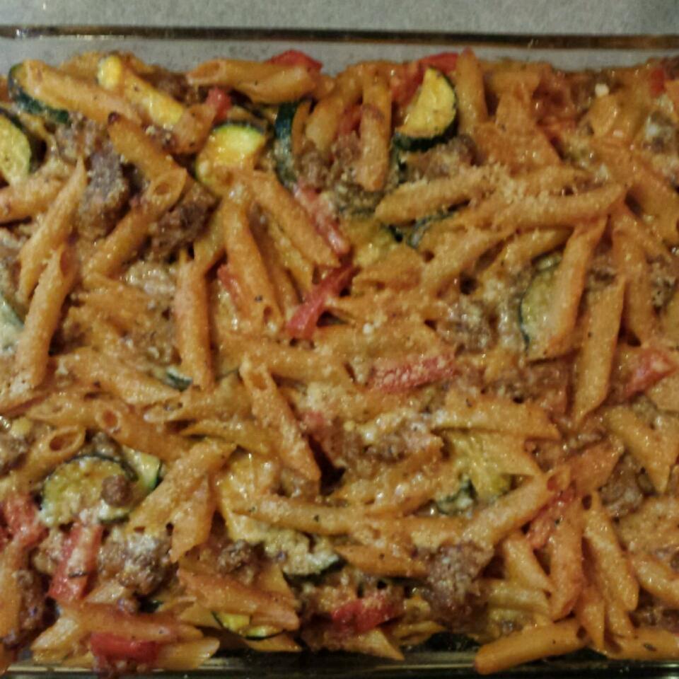 VELVEETA® Italian Sausage Bake John Sartori