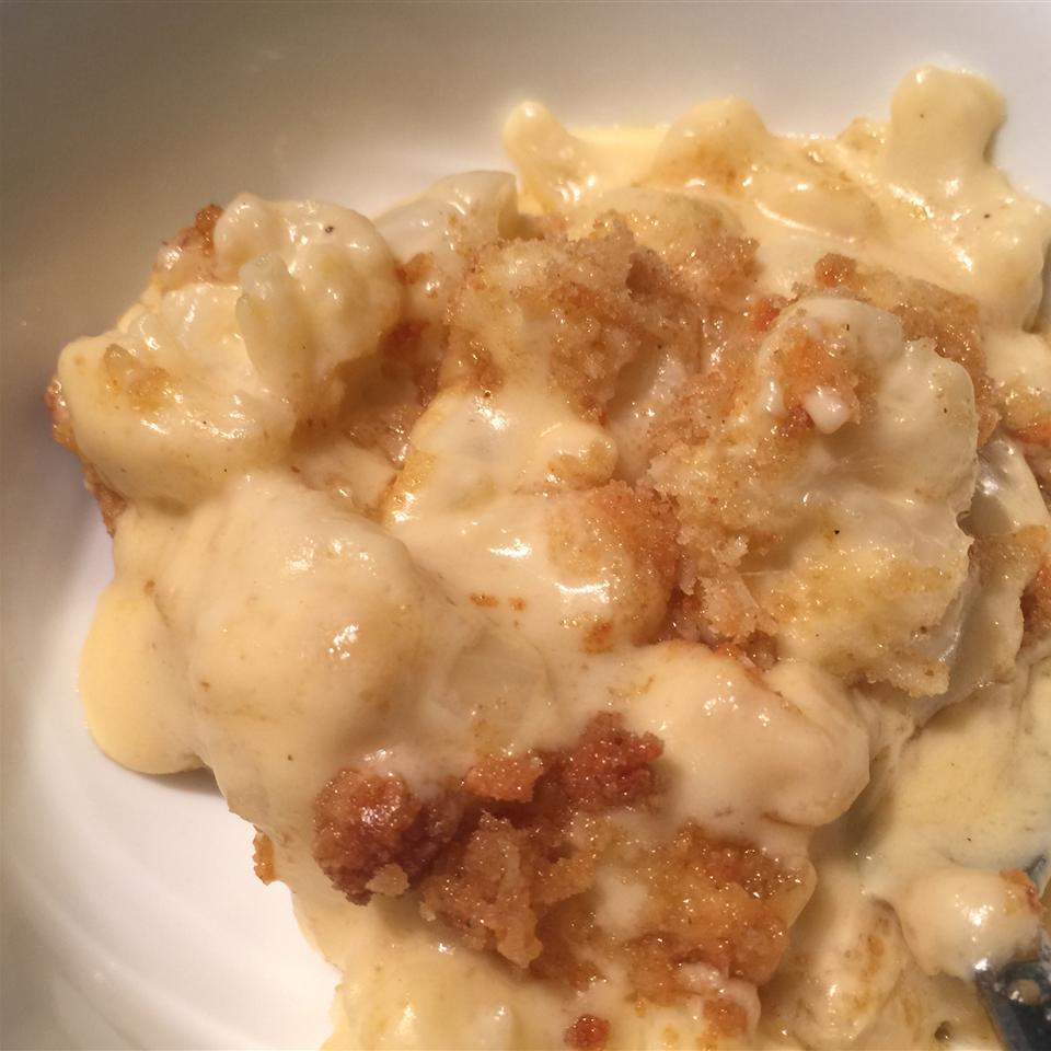 Cauliflower  Mac and Cheese  Bake