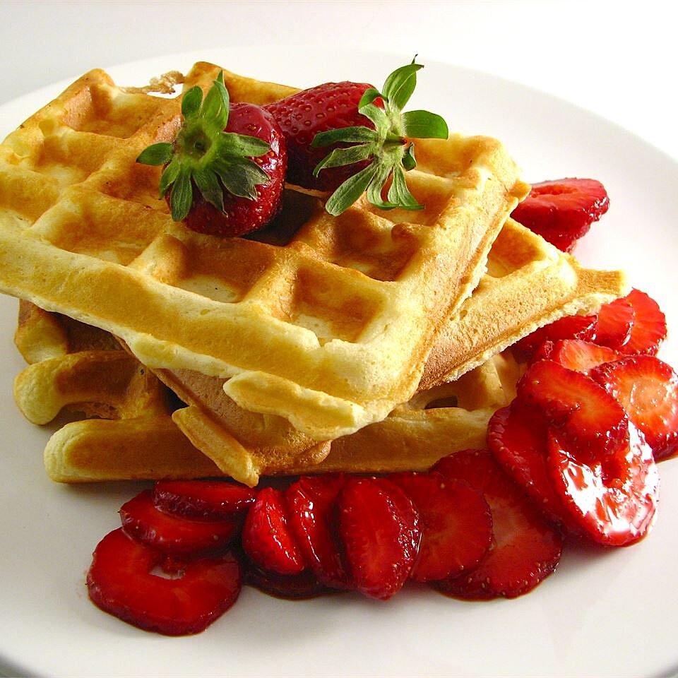 Classic Waffles Recipe Allrecipes Com