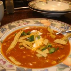 Chicken Enchilada Soup III