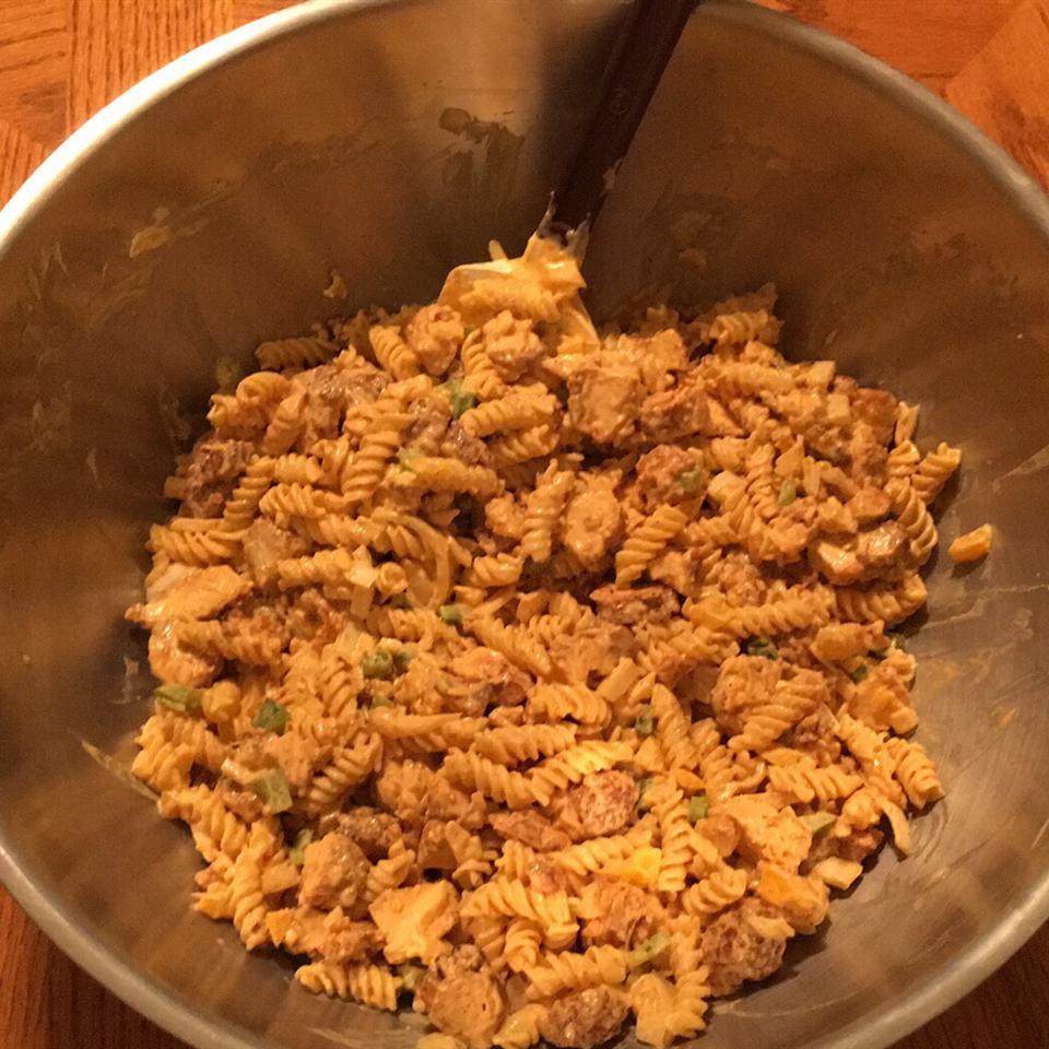 Buffalo Chicken Pasta Salad Jeff Parr