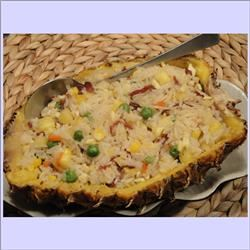 Pineapple Baked Rice (Main Course for Chinese New Year)