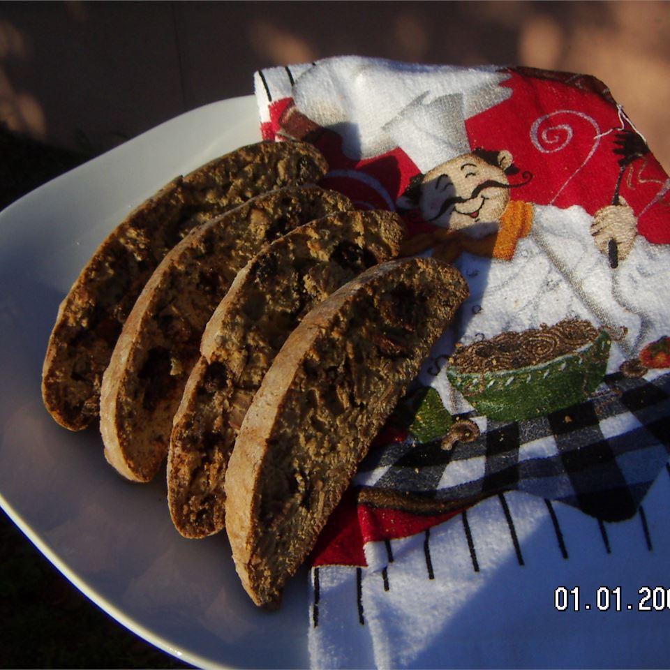 Chocolate and Almond Biscotti Jonacake