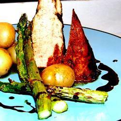 Molasses-Glazed Pork Tenderloin silentturnip