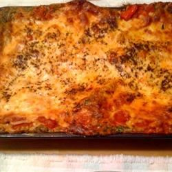 Veggie Lasagna Florentine courtney86