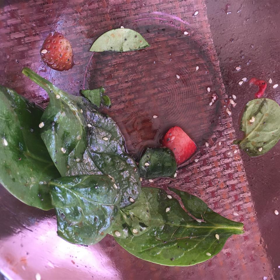 Spinach and Strawberry Salad Moroni Valdivieso-Quijano