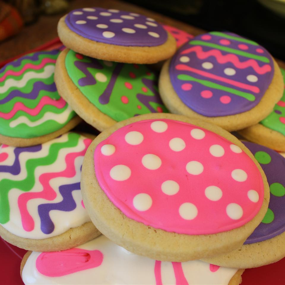 Sugar Cookies with Buttercream Frosting diane