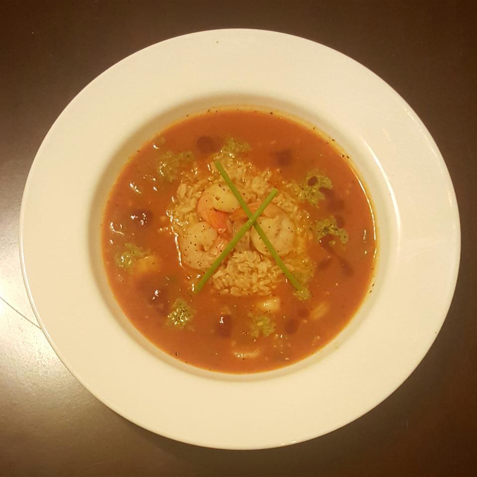 Big Ed's Cajun Shrimp Soup
