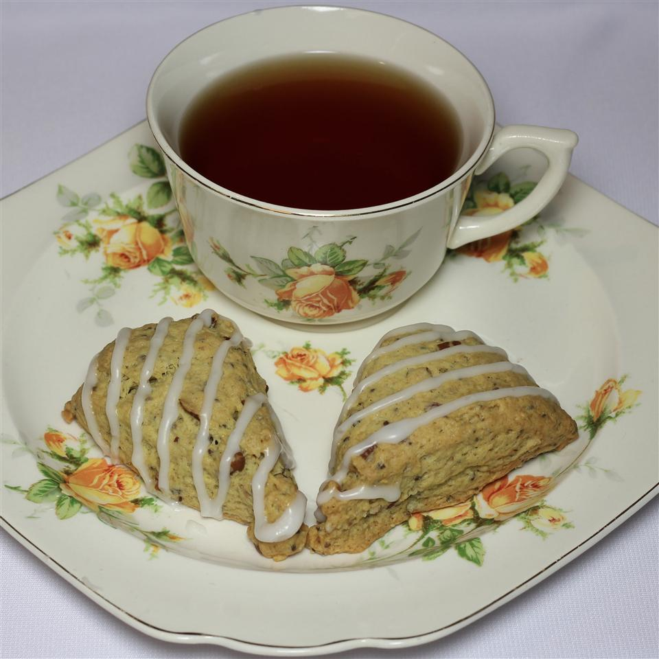 Vegan Lemon-Orange Pecan-Almond Hemp-Chia Ginger-Cardamom Scones