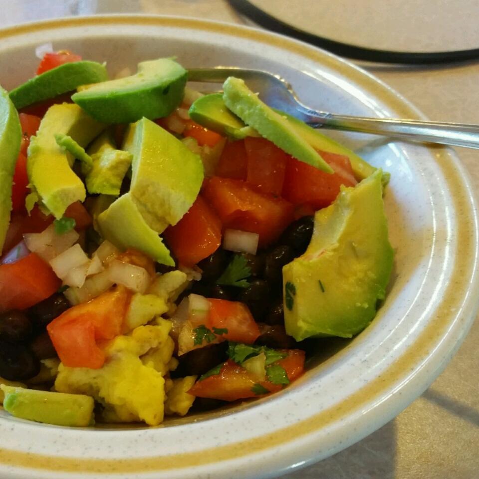 Black Bean Breakfast Bowl kricketkorr