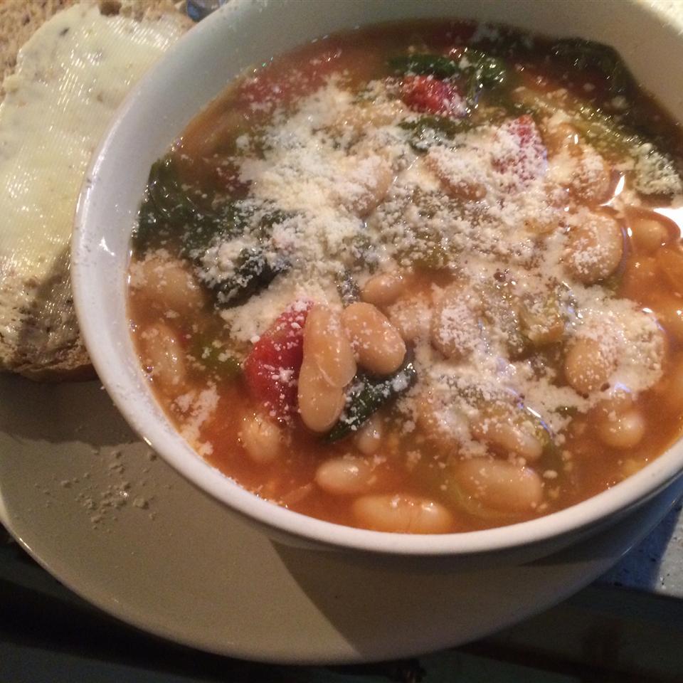 Dad's Escarole and Bean Soup Chef Boy R Drew