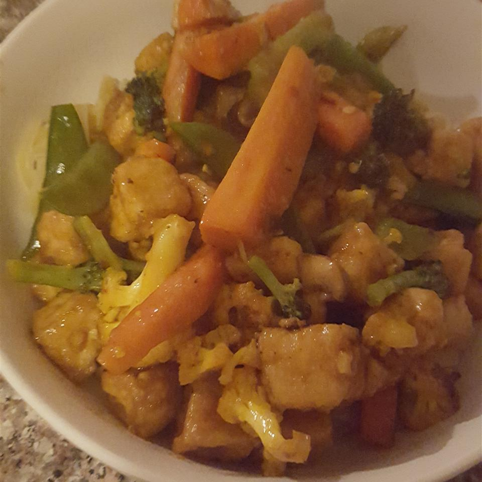 Orange Beef-Style Tofu Stir-Fry
