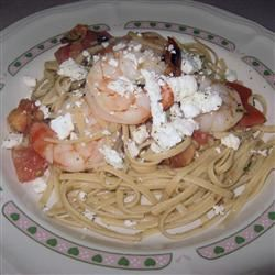 Shrimp and Feta Cheese Pasta ChristineM