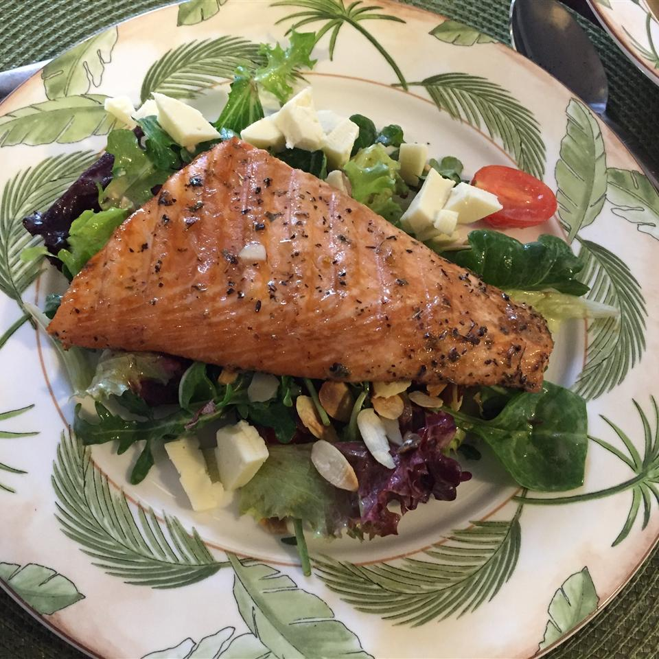 Heather's Grilled Salmon weiwei