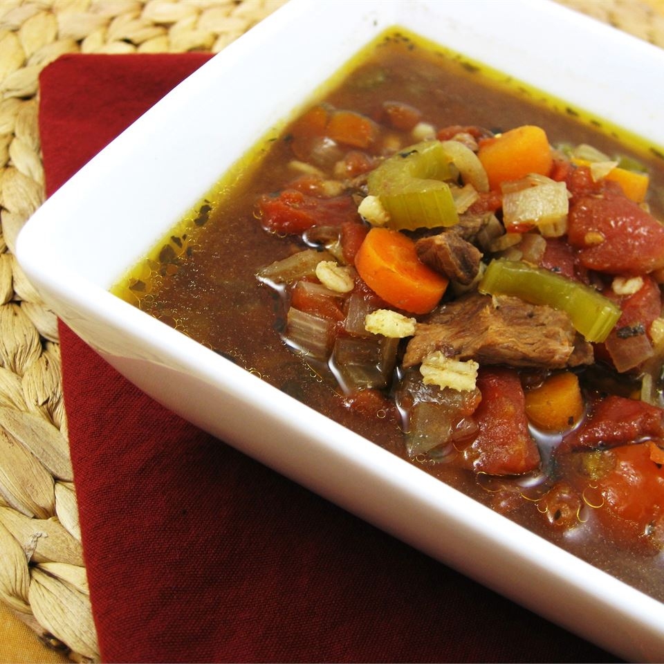 Beef Barley Vegetable Soup MARGOC