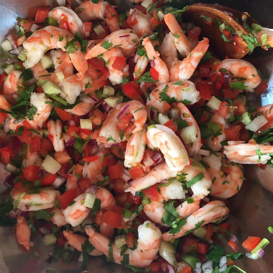 """Clamato® Shrimp """"Ceviche"""" Style tuto"""