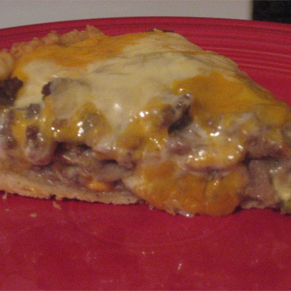 Quick Cheeseburger Pie