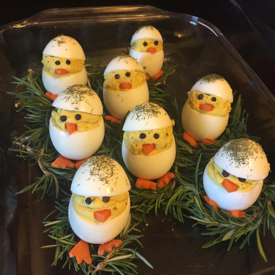Easter Chick Deviled Eggs sig1876