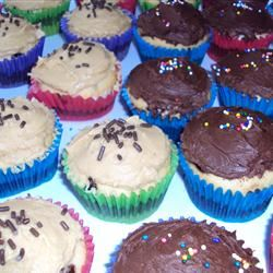 Brownie Batter + Cupcake = The SECOND BEST Cupcake. Ever