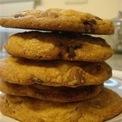 Giant Crisp Chocolate Chip Cookies baker cook