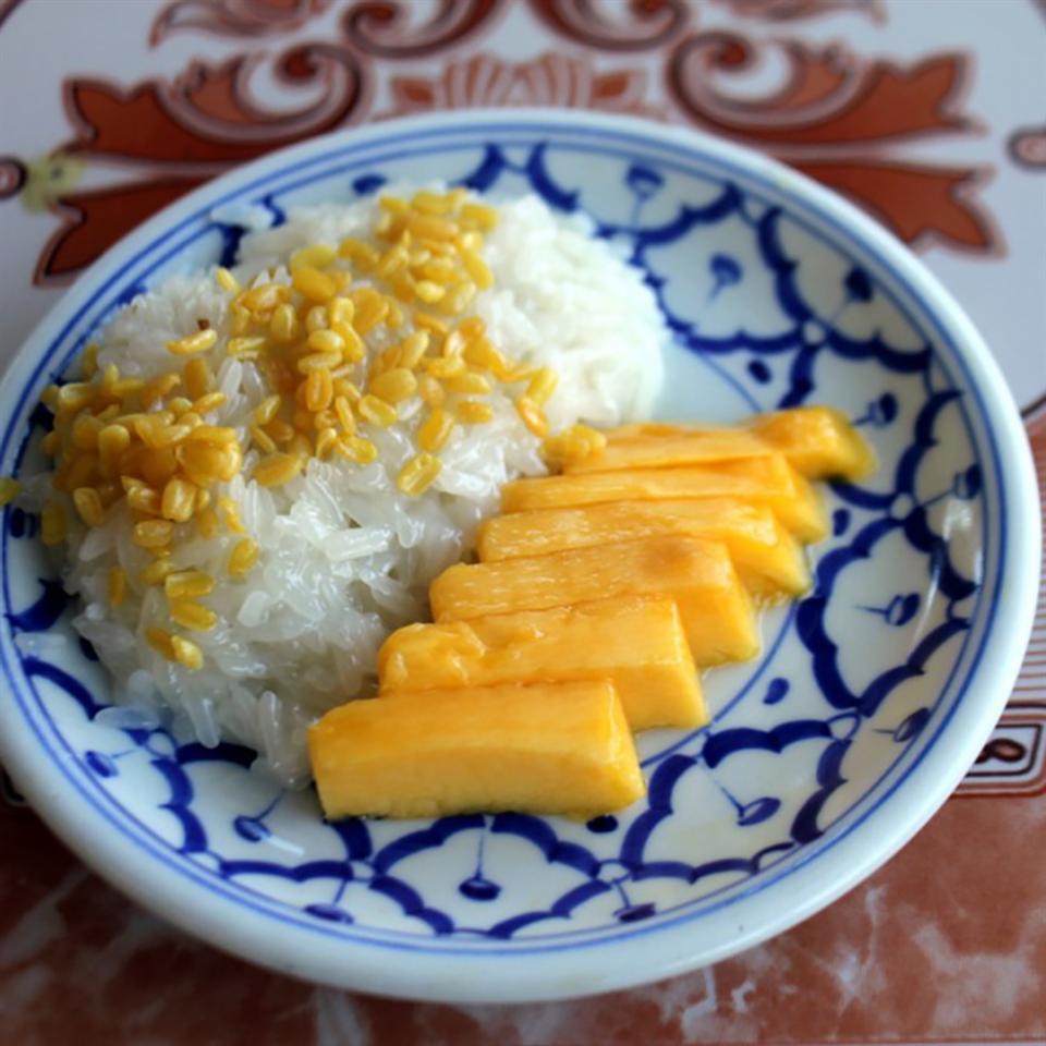 Refined Sugar Free-Mango Sticky Rice