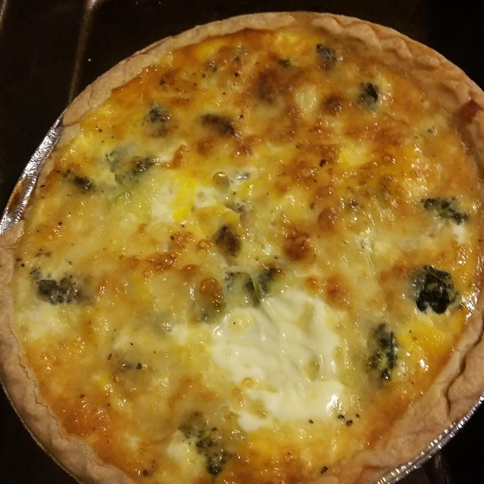 Easy Broccoli Quiche Emi Ham