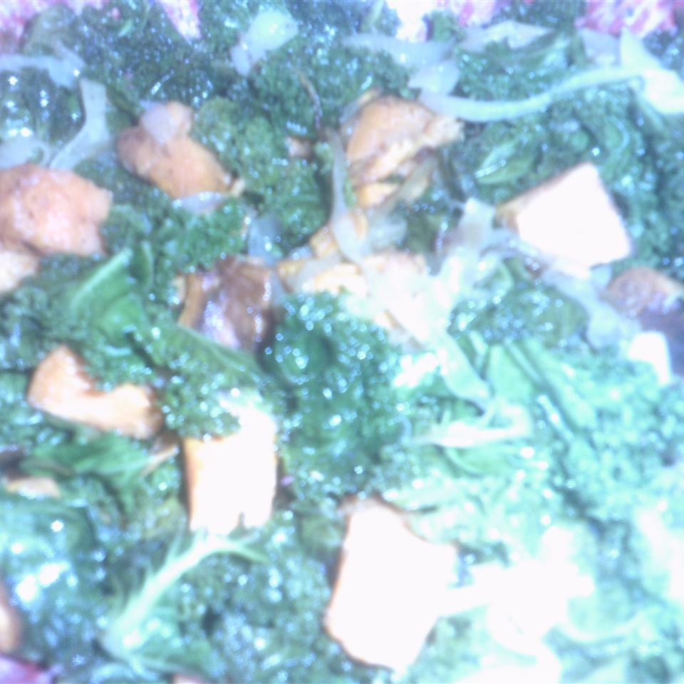 Roasted Yam and Kale Salad Paula Rubac Lowrance