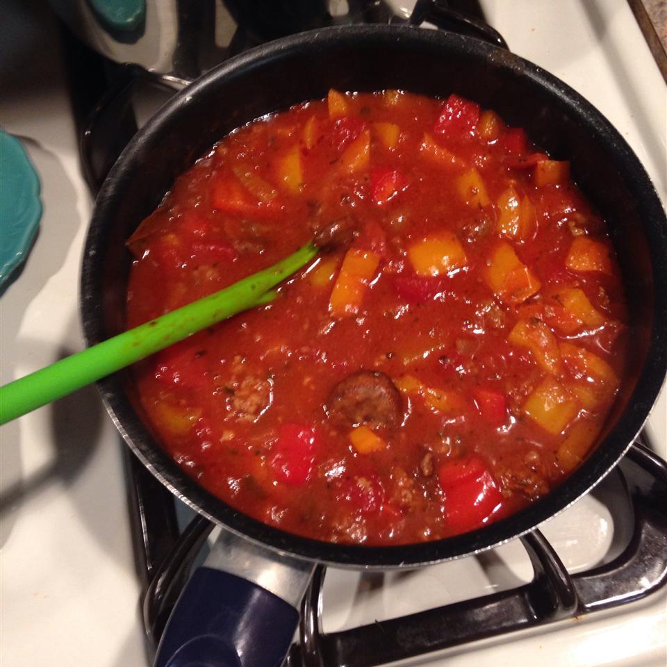Meaty Spaghetti Sauce Salle Williford