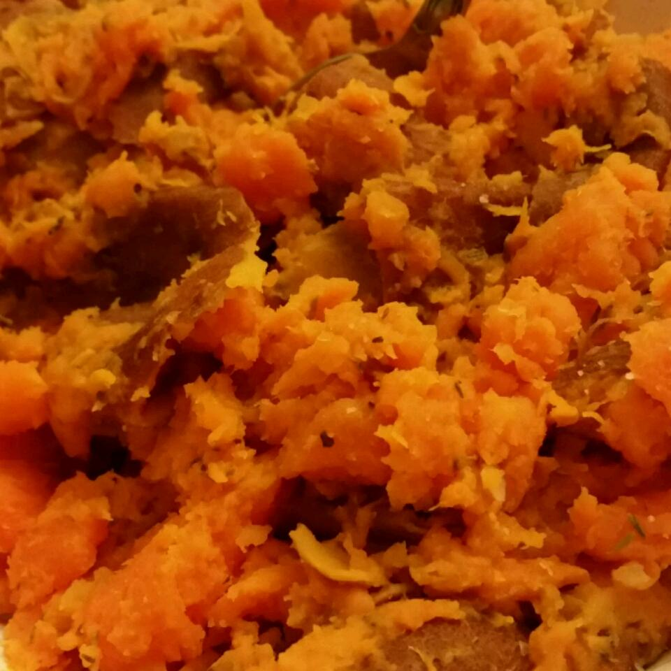Quick and Easy Mashed Sweet Potatoes Lloyd