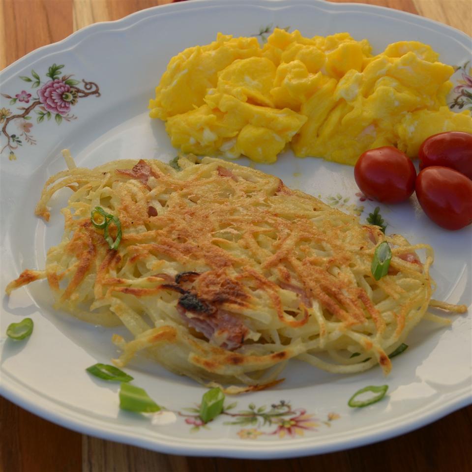 Polpette di Patate Fritte (Potato and Prosciutto Fritters)
