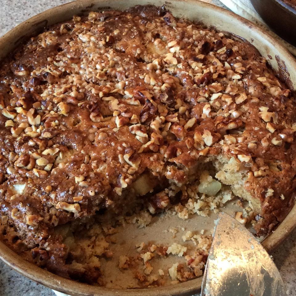 Apple Coffee Cake With Brown Sugar Sauce
