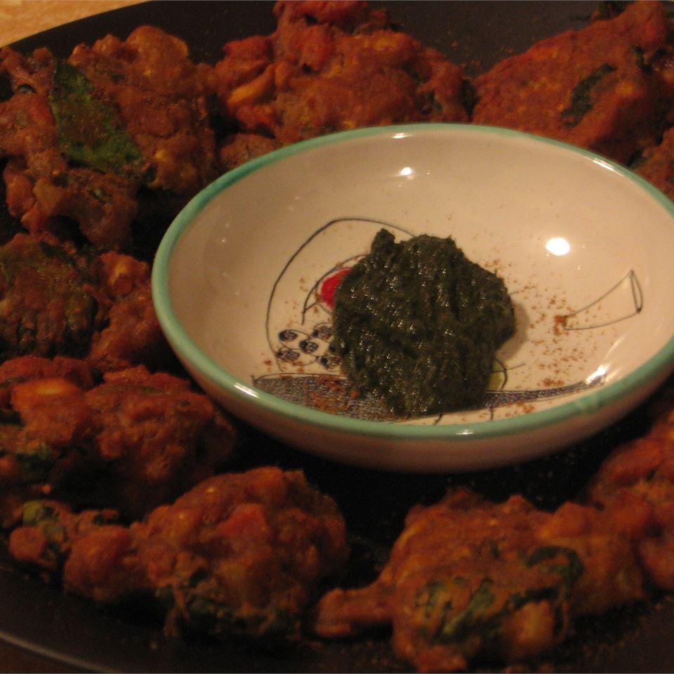 Crispy Vegetable Pakoras Mochi Puffs