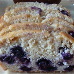 Blueberry Orange Bread baker cook